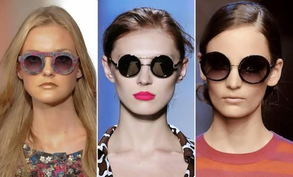 Quem ama o poder dos óculos redondinhos…pode comemorar! Eles virão, para a primavera verão 2015, arrasando e deixando qualquer visual bem mais charmoso e com pinta de moderninho, portanto, pode se jogar, sem medo de ser feliz, ele já está sendo usado por muitos fashionistas e estrelas internacionais.